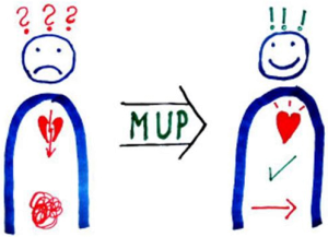 MUP Logo von Konflixt Aschaffenburg